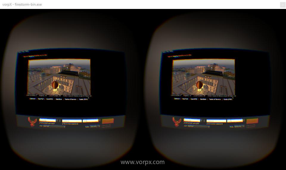 VorpX-Openvue-Firestorm-Login