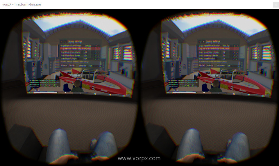 VorpX-Virtual-Cinema-Mode