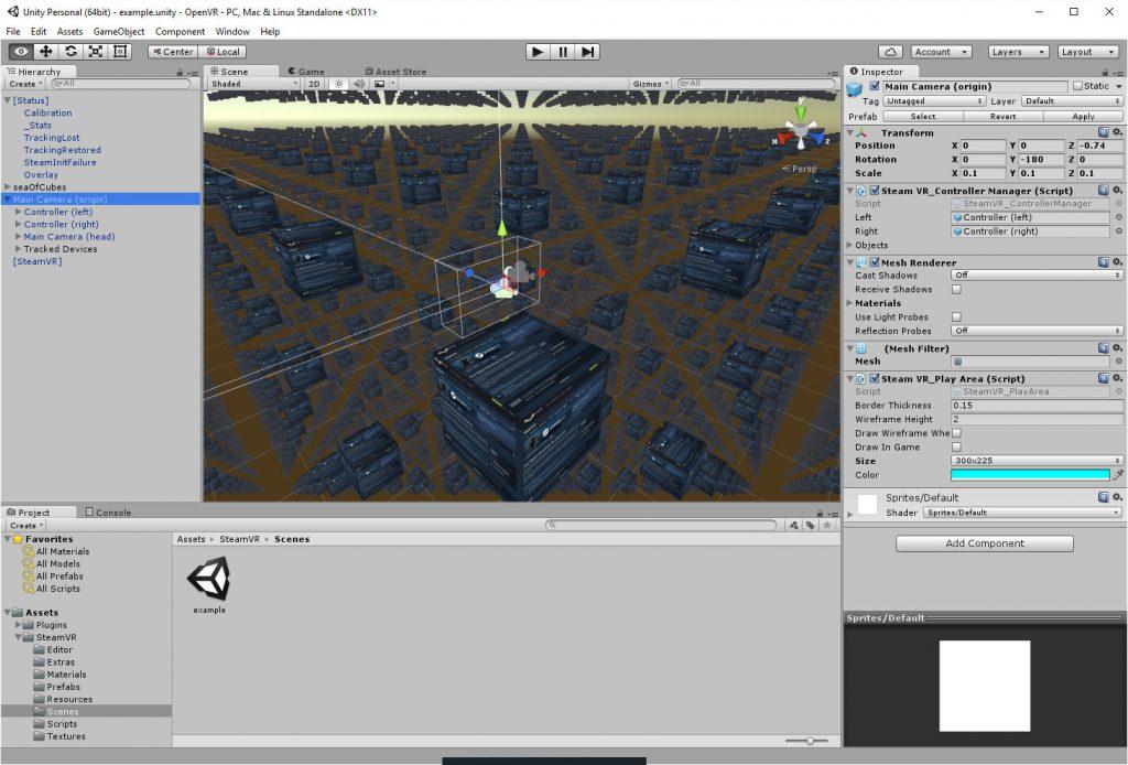 2016-08-10-Unity-OpenVR-Example-Scene-Editor