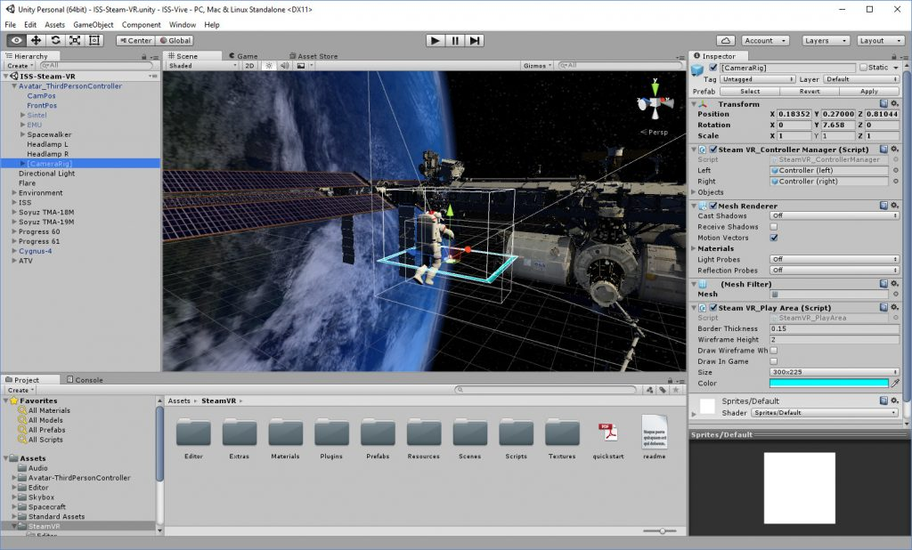 Unity-OpenVR-ISS-Editor
