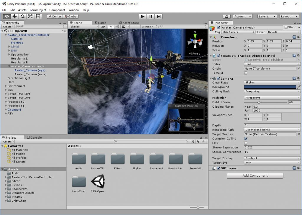 Unity with OpenVR for Vive and Oculus via SteamVR | Ai