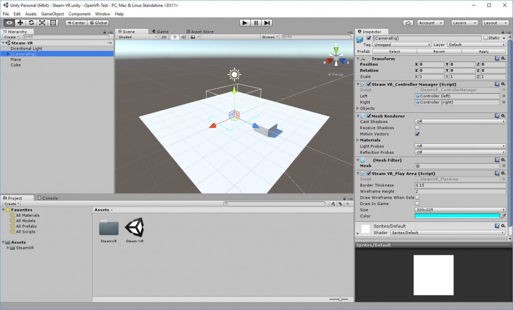 Unity-OpenVR-Sample-Editor