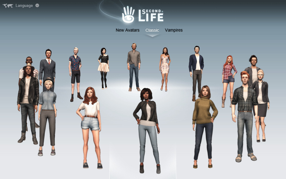 Second Life Starter Avatars | Austin Tate's Blog