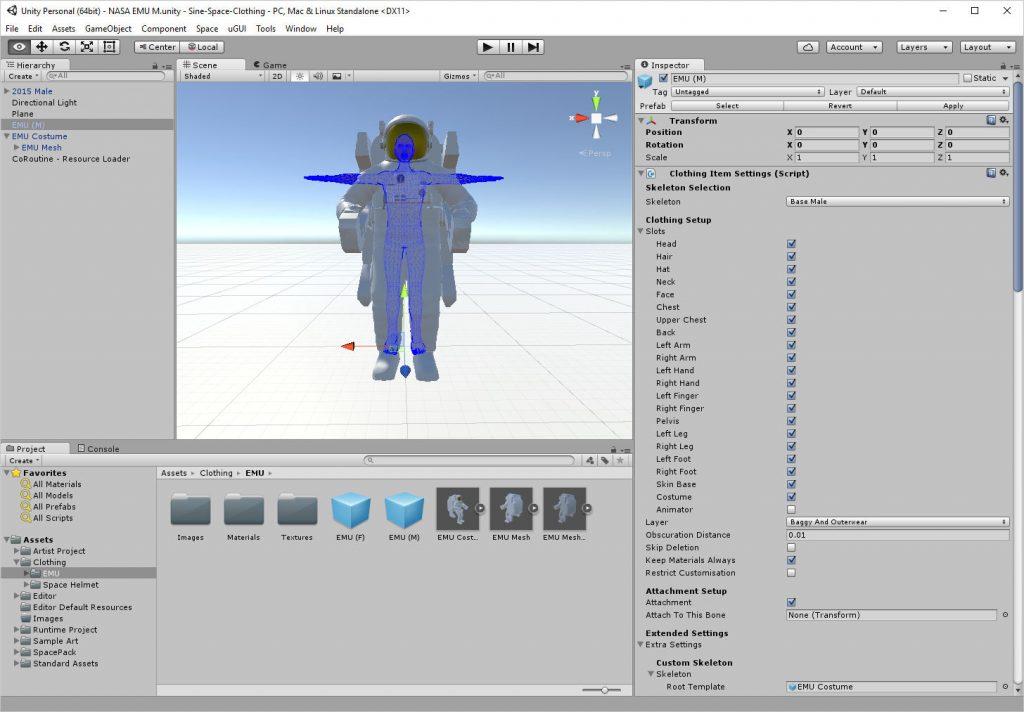 2017-01-13-Sine-Space-NASA-EMU-Unity-Editor