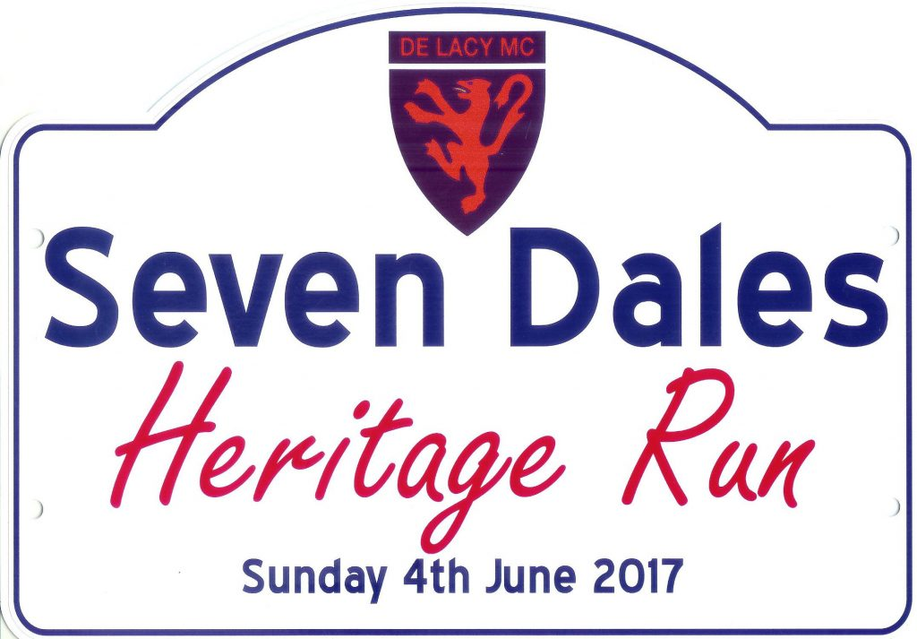 Seven Dales 2017 Plate