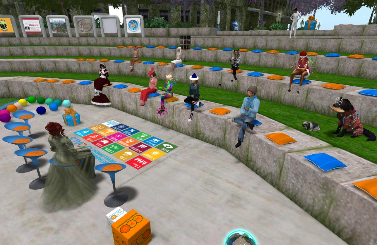 Nonprofit Commons in Second Life | Austin Tate's Blog