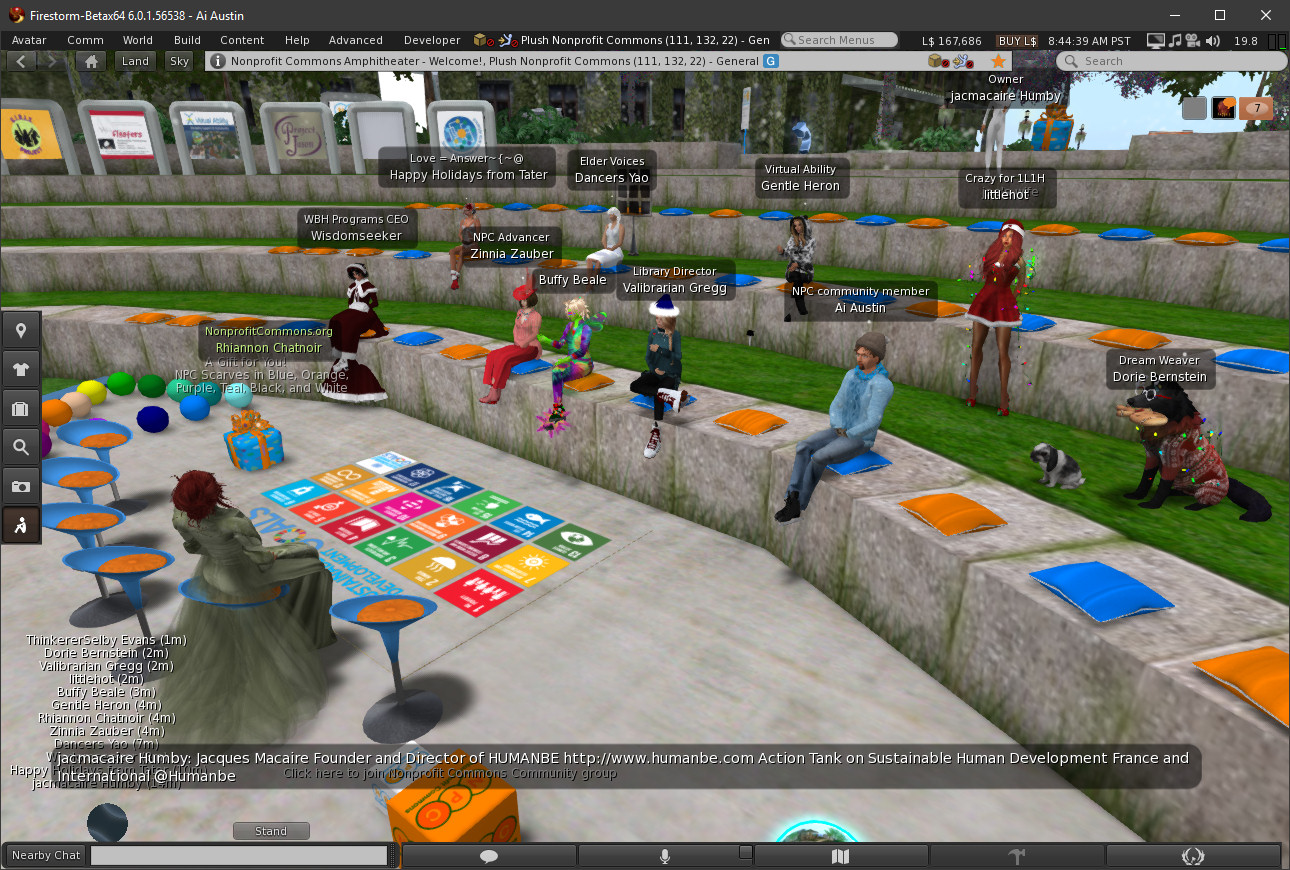 Nonprofit Commons in Second Life   Austin Tate's Blog