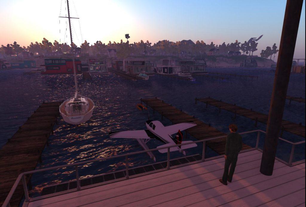 Yacht at Ai Pad at Sunrise