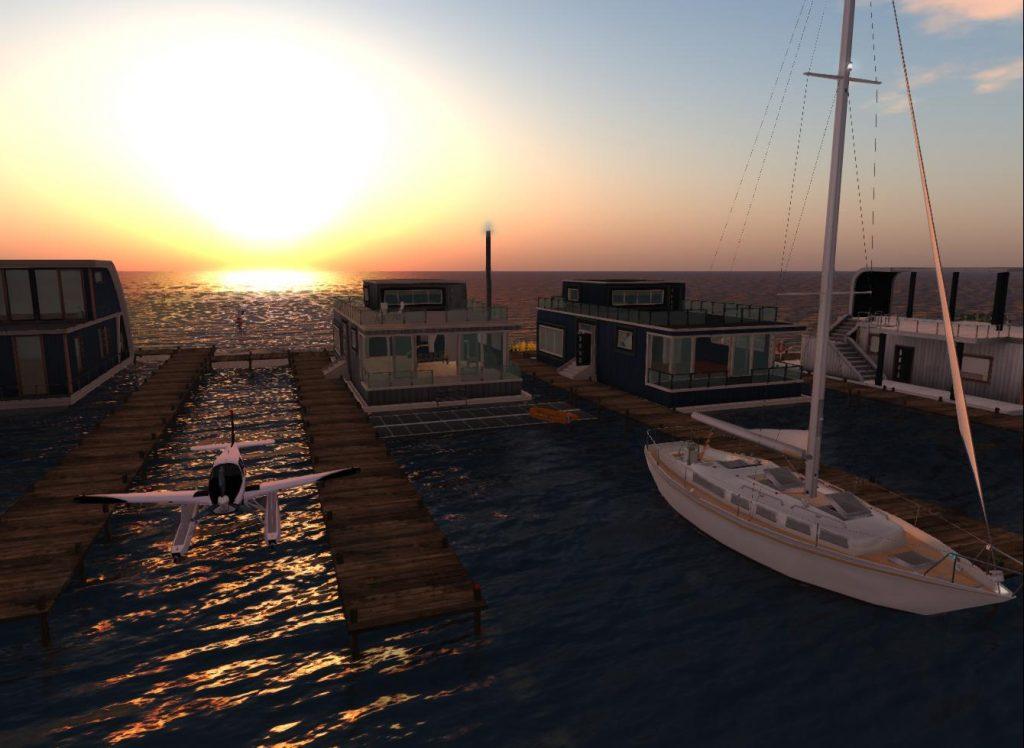 Second Life - Ai Pad - Windlass Houseboat