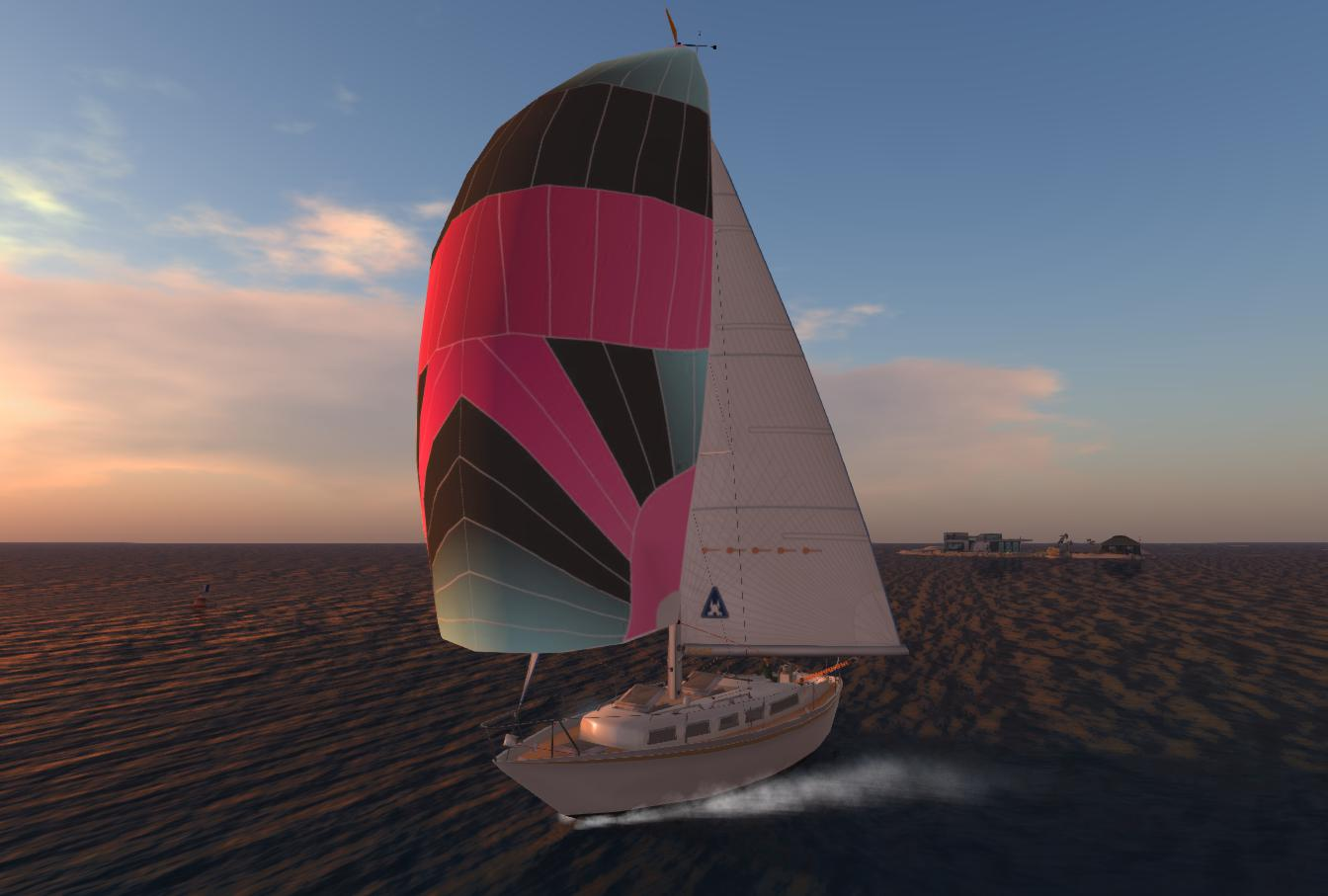 Sailboat around Bellisseria | Austin Tate's Blog
