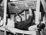 Hamilton in Apollo Command Module