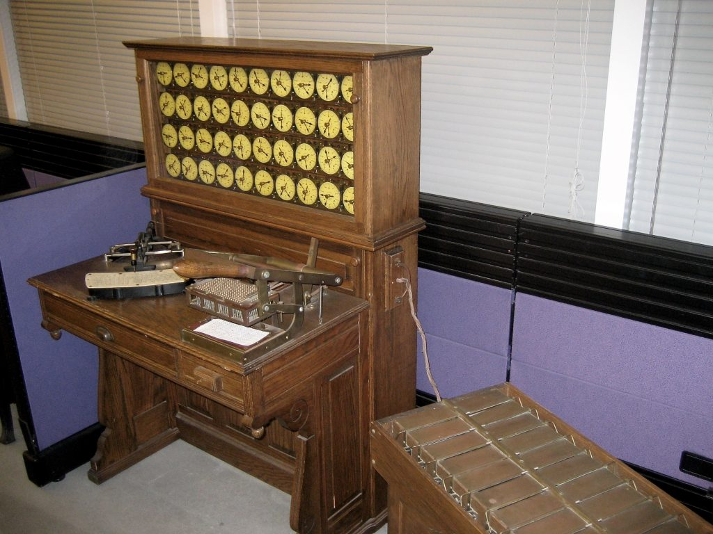 Replica Hollerith Tabulating Machine